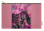 Camo Girl Series Warhol V Lichtenstien Carry-all Pouch