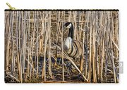 Camouflaged Canada Goose Carry-all Pouch