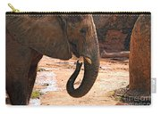 Camouflaged Elephant Carry-all Pouch