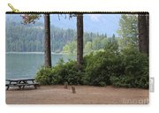 Camp By The Lake Carry-all Pouch