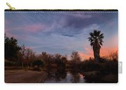 Camp Davis River Sunset Carry-all Pouch