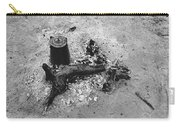 Camp Fire Fall Cattle Round-up Tohono O'odham Indian Reservation Near Sells Arizona 1969 Carry-all Pouch