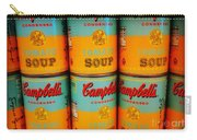 Campbell's Soup Retro Andy Warhol Carry-all Pouch