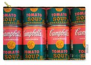 Campbell's Tomato Soup Pop Art Carry-all Pouch