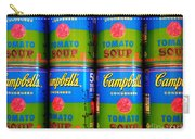 Campbell's Tomato Soup Retro Andy Warhol Carry-all Pouch