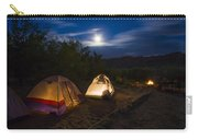Campfire And Moonlight Carry-all Pouch