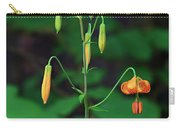 Campground Flower Carry-all Pouch