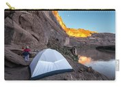 Camping Along The Labyrinth Canyon Carry-all Pouch