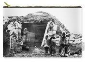 Canada Eskimo Family, 1860 Carry-all Pouch