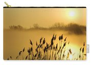 Canada Geese In Flight At Sunrise Carry-all Pouch