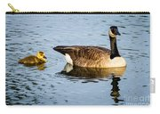 Canada Goose And Gosling Carry-all Pouch