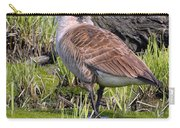 Canada Goose With Young Carry-all Pouch