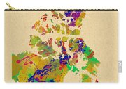 Canada Watercolor  Carry-all Pouch