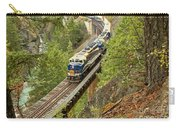 Canadan Railroad Above The Cheakamus River Carry-all Pouch