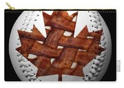 Canadian Bacon Lovers Baseball Square Carry-all Pouch by Andee Design