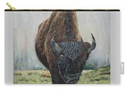 Canadian Bison Carry-all Pouch