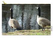 Canadian Geese On Spaulding Pond Carry-all Pouch