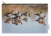 Canadian Geese Stop Over Carry-all Pouch