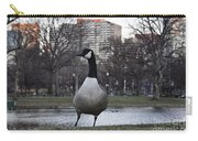 Canadian Goose At Boston Public Garden Carry-all Pouch