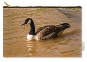Canadian Goose In On Golden Pond Carry-all Pouch