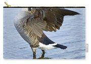 Canadian Goose Stretching Carry-all Pouch