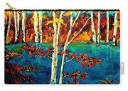 Canadian  Landscape Artist Carole Spandau Carry-all Pouch