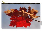 Canadian Maple Leaves In The Fall Carry-all Pouch