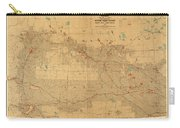 Canadian Mounted Police Map Carry-all Pouch
