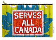 Canadian National Railway Stamp Carry-all Pouch