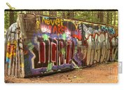 Canadian Pacific Train Wreck Graffiti Carry-all Pouch