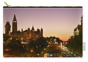 Canadian Parliament Buildings Carry-all Pouch by Tony Beck