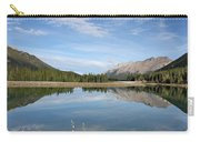 Canadian Rocky Mountains With Lake  Carry-all Pouch