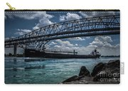 Canadian Tranfer Under Blue Water Bridges Carry-all Pouch