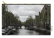 Canal Behind Oude Kerk In Amsterdam Carry-all Pouch