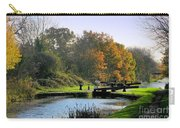 Canal Locks In Autumn Carry-all Pouch