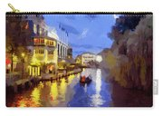 Water Canals Of Amsterdam Carry-all Pouch