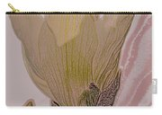 Canary Yellow Magnolia Carry-all Pouch