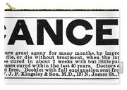 Cancer Treatment, C1875 Carry-all Pouch
