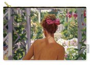 Candace Being Candlish On Canvas Carry-all Pouch
