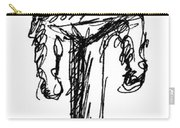 Candelabrum Sketch Carry-all Pouch