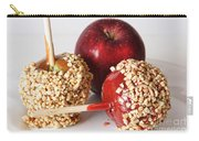 Candied Caramel And Regular Red Apple Carry-all Pouch