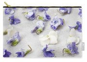Candied Violets Carry-all Pouch