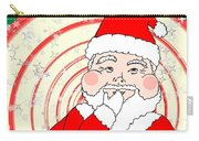 Candies And Cookies Funny Christmas Santa  Carry-all Pouch