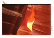 Candle Flame At Antelope Canyon Carry-all Pouch
