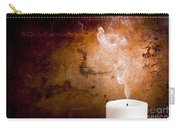 Candle Smoke Trails Carry-all Pouch