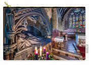 Candles At Christmas Carry-all Pouch by Adrian Evans