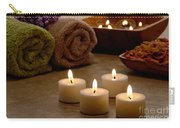 Candles In A Spa Carry-all Pouch