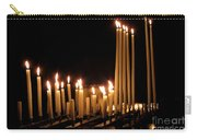 Candles In Church Carry-all Pouch