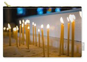 candles in the Catholic Church shallow depth of field Carry-all Pouch