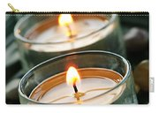 Candles On Green Carry-all Pouch